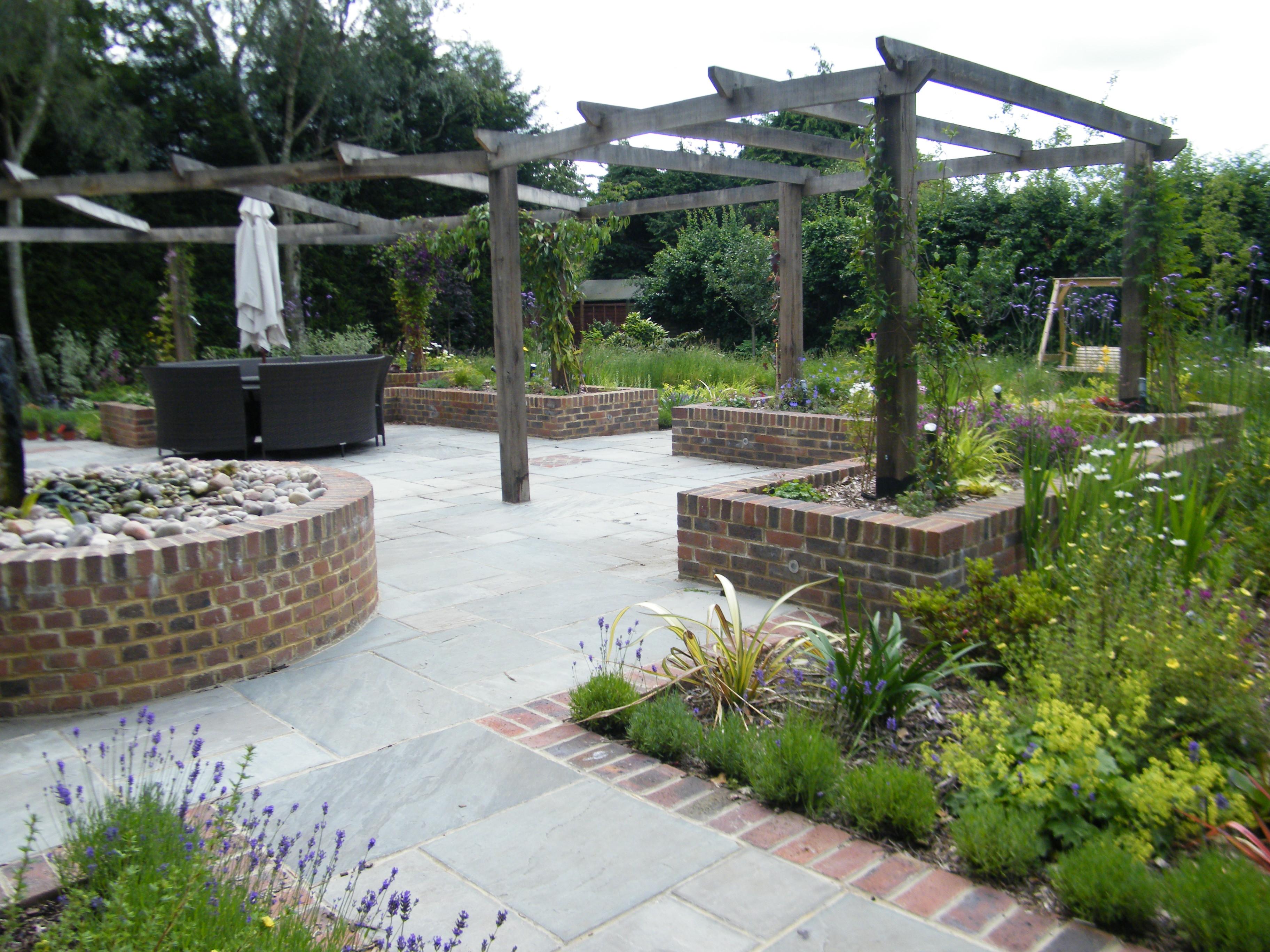 Minimalist Gardens Design | Floral & Hardy | London | UK on Patio And Grass Garden Ideas id=49309