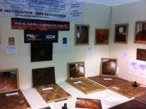 picture of parquet flooring samples