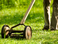 picture of manual cyliner lawnmower