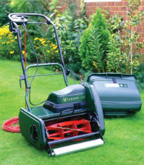 picture of electric cylinder lawnmower