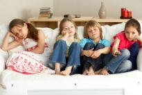 picture of bored children