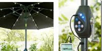 image of solar powered lights