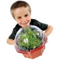 image of young gardener