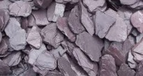 image of slate chippings mulch