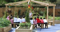 picture of an outdoor classroom
