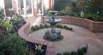 image of courtyard garden