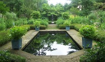 image of formal pond
