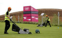 image of mowing at Olympic Park