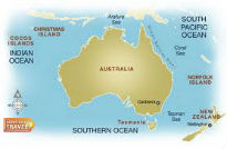 picture of map of Australia