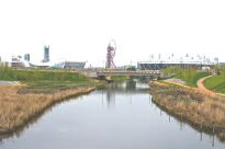 image of wetlands at Olympic Park