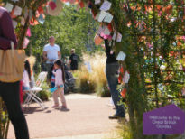 image of arch leading to Great British Garden at Olympic Park