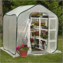 image of temporary greenhouse