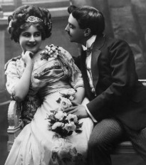 image of victorian wooing