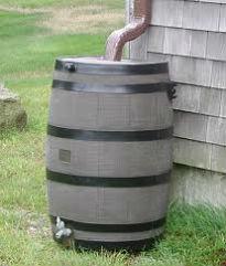 image of rain barrel