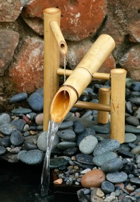 image of Japanese water feature