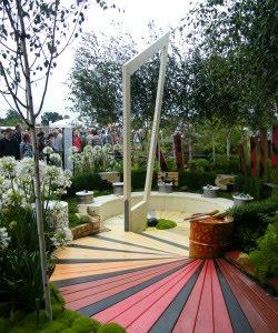 image of Lewis Caroll's Jabberwock garden