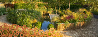 image of garden for joy at hampton court