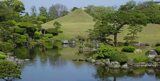 image of Japanese water garden