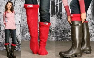 image of welly warmer socks