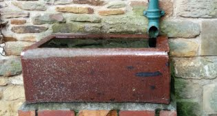 image of water trough
