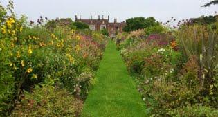 image of Helmingham Hall gardens