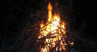 image of bonfire