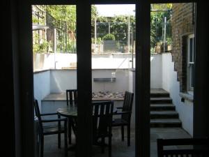 Glass Balustrade & Bi-fold Doors - a-view-from-inside