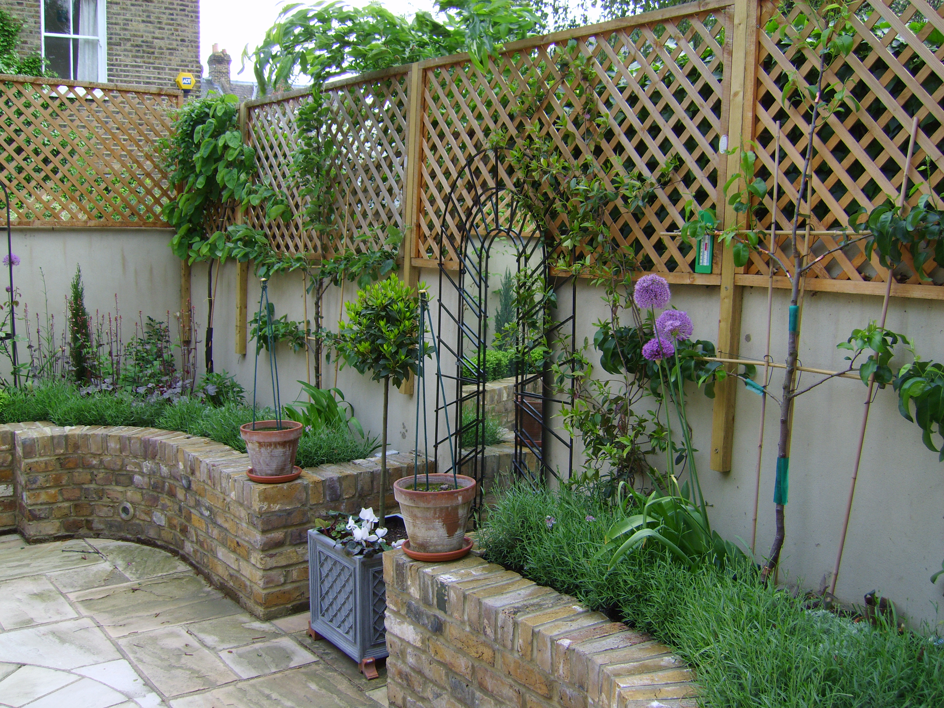Garden Design Clapham | Floral & Hardy | UK on Courtyard Patio Ideas id=12820