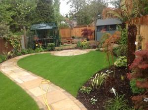 Artist's Garden - beckenham-green-house