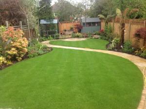 Artist's Garden - beckenham-lawn