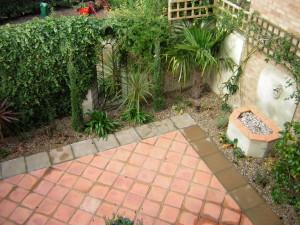 Mediterranean Courtyard - birdseye-orpington