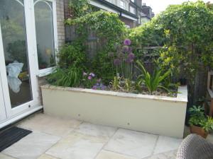 Artist's Garden - bright-beds