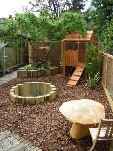 Long Thin Suburban - childrens-garden