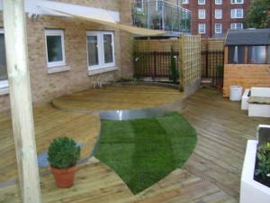 Urban Space for Entertaining - city-of-london-garden-design