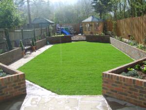 Family Garden - finished-garden-in-surbiton