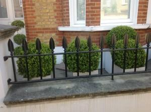 Plantswoman's Patio - front-planters