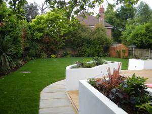 Double Dutch - garden-design-esher