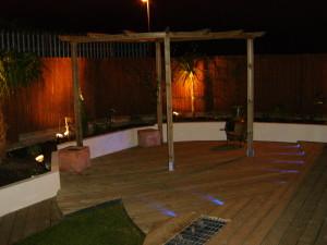 Urban Space for Entertaining - garden-lighting-london