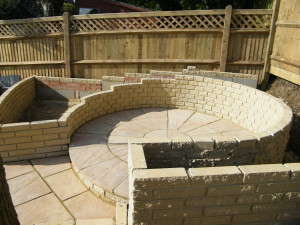 Escape to the Country - hailsham-patio-taking-shape