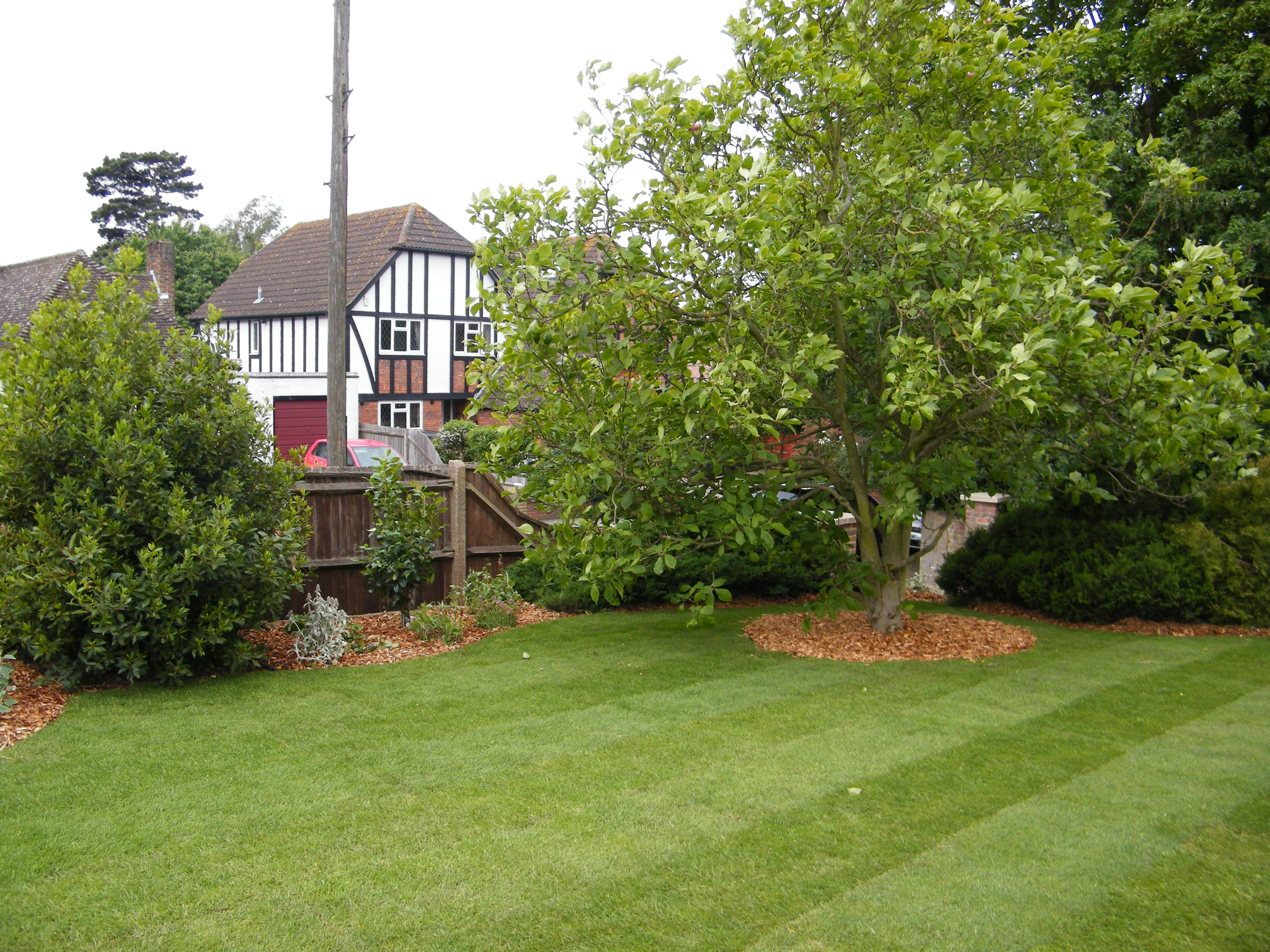 The view beyond floral hardy london uk for Garden design kent