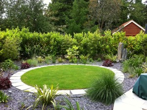 An Olympian's Oasis - lawn-shaping