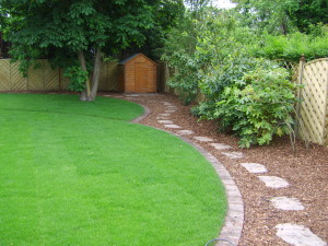 Round in Circles - lawn-and-stepping-stones-in