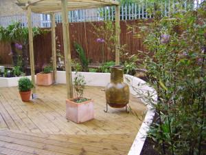 Urban Space for Entertaining - london-garden-design