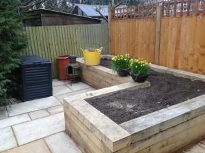 Artist's Garden - new-beds-ready