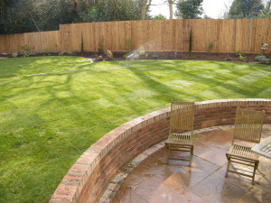 Love a Triangle - new-patio-lawn-and-seating