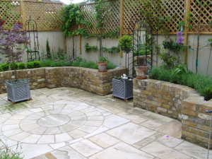 A Tiny Courtyard Transformed - new-patio-space