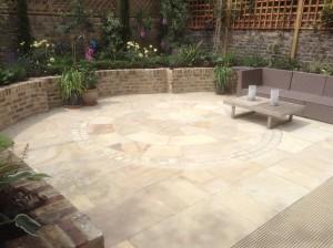 Plantswoman's Patio - nice-photo-of-the-new-patio