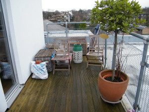 On Top of the World - old-camden-roof-space