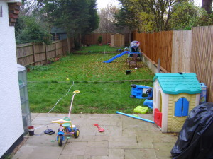 Family Garden - old-play-space