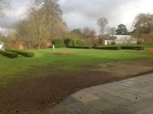Croquet Anyone? - old-shoreham-garden